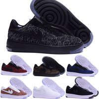 Wholesale Outdoor Sports Flooring - 2017 air One 1 Dunk Men Women Flyline Running Shoes,Sports Skateboarding Ones Shoes High Low Cut White Outdoor Trainers Sneakers