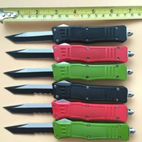 Wholesale Gear Cutting Tools - 32 Styles 616 D A auto Tanto Blade Cutting Tool A162 A161 Camping gear Ourdoor EDC Survival Knife Knives with nylon sheath
