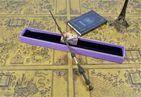 Wholesale Magic Goods - 1PCS New Harry Potter Dumbledore The Elder Magic Wand With Box Good Gift For Cosplay Free Shipping