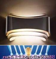 Wholesale Wall Mount Bedside Lamp - 2016 NEW modern 5w led wall lights foyer bed dining living room lamp led bathroom lights bedside light indoor wall mounted lamps MYY