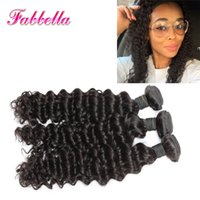 Wholesale Cheapest Indian Remy Hair Extensions - Cheapest Real Virgin Brazilian Curly Hair Extension Weave Indian Peruvian Malaysian Hair Natural Color Human Hair Weft 3 Bundles Deal