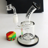 "Wholesale Thick Quality Glass Free Shipping - 6"" best quality toro glass dab oil rig glass bubbler 5MM thick glass rigs includ quartz banger nail free shipping"