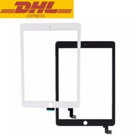 Wholesale Ipad 2nd Digitizer - Screen Replacement For iPad Air 2 2nd Gen Generation A1567 A1566 Touch Screen Digitizer Glass Lens For Ipad 6 DHL Freeshipping