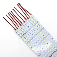 Wholesale blue smd strip 1m for sale - Group buy DC V SMD LED M Rigid hard Strip Light Bulbs with Aluminum Alloy PCB White Warm White Red Green Blue