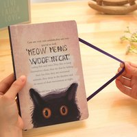 Wholesale Agenda Cat - Wholesale- 2017 Creative Cartoon Cat Journal Diary Line Pages Notebook Printed Hard Cover Planner School Study Memo Agenda Gift Stationery