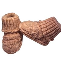 Wholesale Crochet Knit Shoes - 0-1 years old free size indoor Warm hand knitting baby prewalker shoes