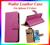 Wholesale Iphone I5c Cases - For I4 4S, I5 5S,I5C,iPhone6S,iPhone6splus,iPhone 7, iPhone 7 plus, Note7 PU Leather Wallet Case Credit Card Holder Stand Case