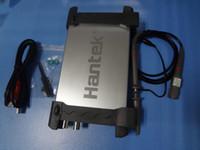 ingrosso oscilloscopio pc del canale usb-Oscilloscopio USB Trasporto All'ingrosso-Libero Hantek 6022BE Bandwidth 20MHZ doppio Based Digital Canale PC con Dual sonde