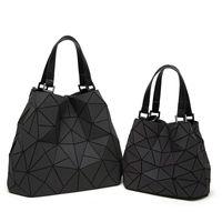 Wholesale Vintage Bolso - BaoBao Drawstring Bag Women Luminous triangle Sac Baobao Bag Diamond Tote Geometry Quilted Shoulder Bags Laser Plain Folding Handbags Bolso