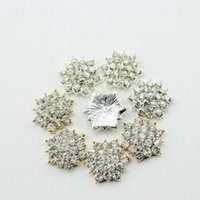 spark element - EMS mm Clear Alloy Metal Buttons Spark Rhinestone Buttons For Decoration Accessory