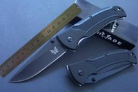 Wholesale Benchmade Mini Knife - benchmade B-13 B13 Stainless Steel Manual Release Mini pocket Folding Knife Line Locker Pocket Cutter camping knife 1pcs
