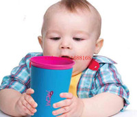 Wholesale 50PCS High Qulity Wow Cup for Kids Colors Innovative no Spill Free Drinking Cup HHA48