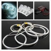 Wholesale Bmw E39 Headlights Xenon - 4x Xenon White Led Car Angel Eyes Headlight Halo lights For BMW E36 E39 E46