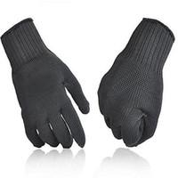 black art work - Kevlar Working Protective Gloves Cut resistant Anti Abrasion Safety A grade