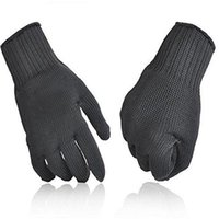 Wholesale Men Golf Glove - Kevlar Working Protective Gloves Cut-resistant Anti Abrasion Safety 5A grade