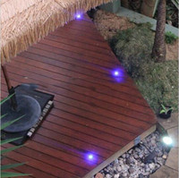 Changeable LED Deck Lamp Stainless Steel LED Stairs Light LED Floor Light  For Garden Doorway Patio Decoration 1W 0.5W LED Outdoor Lighting
