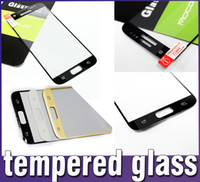 Wholesale Iphone Screens Colors - For Galaxy S7 Iphone SE Iphone 6S Iphone 6 Tempered Glass Screen Protector colors colorful glass Film Galaxy S6 0.26mm Retail box