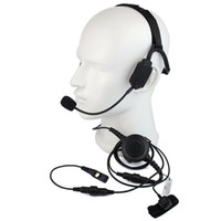 Wholesale Hyt Headset - Finger PTT MIC Military Bone Conduction Tactical Headphone Headset for HYT Hytera PD700 PD780 PD580 Radio Walkie talkie C2220A