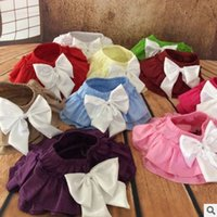 Wholesale Blouse Zebra Girls - Butterfly Girls tutu skirts 2016 New Bowknot Ruffle Tiered Baby Mini Skirts Summer Fashion Toddler Skirt Babies Clothes 6183
