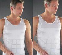 ingrosso formatori maschi-Sexy Cinture Body Shapers Confortevole Belly Shaper Nuovo Per Gli Uomini che dimagrisce Camicia Eliminazione Di Male Beer Belly Uomini Body Shapewear D716