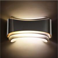 innenwandbeleuchtung leuchter großhandel-Moderne minimalistische 5 watt led wandleuchten wandleuchten nachttischlampe wandleuchte innen für badroom wohnzimmer