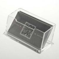 визитные карточки оптовых-Прозрачный акриловый держатель визитной карточки дисплей стенд стол настольная столешница новые новое прибытие