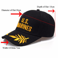 Wholesale Brown Sunbonnet - Military Cap Snapback Hats Sports Outdoor Sun Baseball Cap Man Women GOLF Hat Sunbonnet Baseball Cap Sports Hat