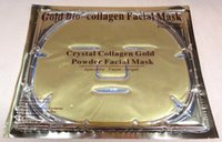 Wholesale New Collagen Facial Mask crystal Gold powder collagen face masks Collagen eye Mask17 Face mask pcsNose mask