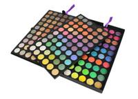 maquillage de réduction achat en gros de-Pro 180 Couleur Ombre À Paupières Ombre À Paupières Maquillage Make Up Palette Kit Livraison Gratuite 2 # 3 couche