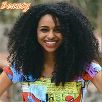 Wholesale Cheapest Afro Curly Wigs - Cheapest Lace Human Hair Wigs Afro Kinky Curly 7A Malaysian Hair Full Lace Front Human Hair Wigs For Black Women