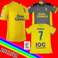 Wholesale home casual - 2017 Las Palmas Soccer Jerseys 2017 2018 home Las Palmas shirts New Leisure Best Quality Casual free shipping