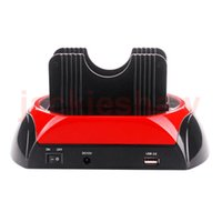 "Wholesale Docking Station Clone Hdd - All In 1 One 2.5"" 3.5"" IDE SATA HDD Hard Drive Disk Clone Holder Docking Station e-SATA USB2.0"