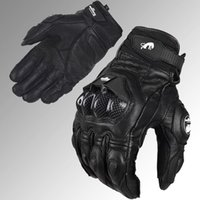 Wholesale Black Jaguars - 1606 free shipping Professional Jaguar Furygan AFS 6 motorcycle racing gloves carbon fiber leather guantes motorcycle