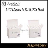 Wholesale joyetech qcs coil for sale - Group buy Joyetech CUBIS Pro Replacement Coil LVC Clapton ohm MTL Head QCS Coils LVC Clapton and QCS Coils for Cubis Cubis Pro eGO AIO Tank