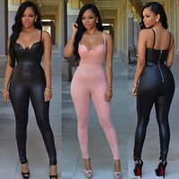 Wholesale Wholesale Women Clubwear - Wholesale- 2016 New Sexy Women Ladies Summer Clubwear Playsuit Party Jumpsuit Romper Long Trousers
