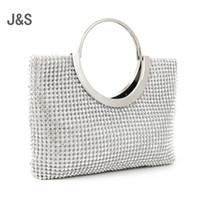 Wholesale Black Studded Bag - 2016 diamond-studded handbag evening bag evening bag with a diamond bag women's rhinestone banquet handbag day clutch female 3 Color