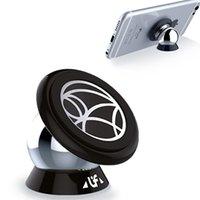galaxy s5 araba sahibi toptan satış-UF-A Manyetik 360 Derece Araç Montaj Mıknatıs Telefon Tutucu iPhone 6 6 artı samsung galaxy s5 s4 için Standı GPS