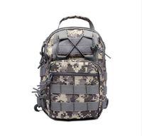 Wholesale Sling Rucksack - Durable Outdoor Military Tactical Backpack Oxford Sling Single Shoulder Chest Bag Camping Travel Hiking Trekking Rucksack Bag