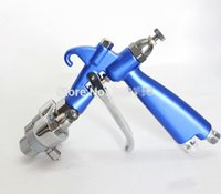 Wholesale Dual Heads Spray Gun - Professional Chrome dual head spray gun double head spray gun for Silver mirror and nano painting free DHL shipping