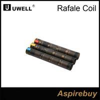 uwell rafale оптовых-100% оригинал Uwell Рафаль глава замена катушки 0,1 Ом 0,2 Ом 0,5 Ом Ni200 SUS316 подходят Uwell бака Рафаль