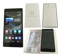 huawei p8 dual toptan satış-Huawei p8 artı telefon Android 6.0 inç MTK6572 Çift çekirdekli smartphone cep telefonları çift Sim 512 RAM 4 GB ROM gösterisi 32 GB Sahte 4G LTE WIFI