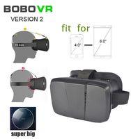 Wholesale Oculos Virtual - 2015 New Plastic Google Cardboard Version BOBOVR version 2 2.0 Virtual Reality 3D Glasses VR Headset Headmount Oculos Rift