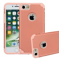 Wholesale fre for iphone online – custom Hot iphone7 plus Hybrid defender case Rugged robot TPU pc Combo Cases Heavy Duty Rugged Armor case hot wholsale iphone7 phone case Fre