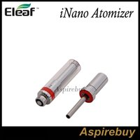 Wholesale Used Tanks - Eleaf iNano Atomizer 0.8ML Tank 10mm Diameter Small Size Appearance Easy to Use and Refill Perfect Match with iNano Battery 100% Original
