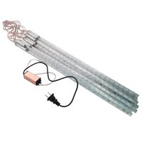 Wholesale Raindrop Green - 10 Tubes 5050 SMD 50cm DC 12V LED Meteor Shower Rain Lights Icicle Snow Raindrop Lamp for Christmas Waterproof + Power Adapter Free Ship