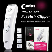 Wholesale Electric Cattle - Professional Pet Trimmer Scissors Dog Cattle Rabbits Shaver Horse Grooming Electric Hair Clipper Cutting Machine Codos KP3000