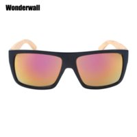 Wholesale Cheap Bamboo Sunglasses - Hot new bambu temples wood sunglasses gafas de sol bamboo masculino senhora 3301 Cheap sunglasses boy