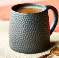 Wholesale Golf Mug - Creative Ceramics mugs with spoon Honeycomb mug Large capacity Individuality Golf coffee mug breakfast milk mug