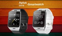 Wholesale Mp3 Phone Waterproof Watch - 6260A Smartwatch Aplus Gv18 Bluetooth Health Mp3 Waterproof Pedometer Wearable Device With SIM Card Mobile GSM Android Smart Watch Phone