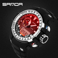 Wholesale Kids Watches 3d - Luxury Brand Military Watches Men Quartz Analog 3D Face Leather Clock Man&kids Sports Watches Army Watch Relogios Masculino